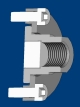 Rod coupling with adjustable axial play